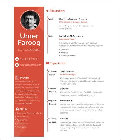 interior designer CV template - Home Fashion Products